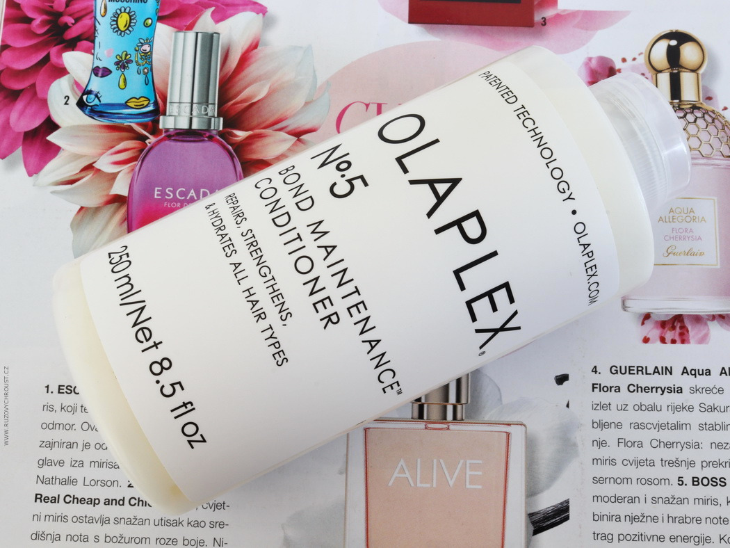 OLAPLEX - vlasové sérum (No.3), šampon (No.4) a kondicionér (No.5)