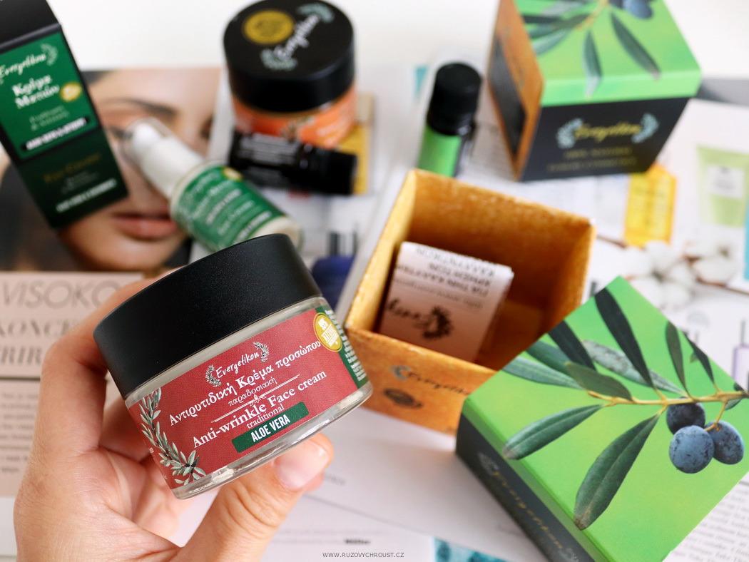 Evergetikon - Revitalizační krém proti vráskám s aloe vera