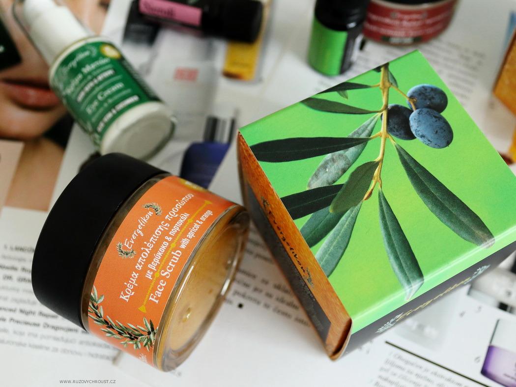 Evergetikon - Pleťový peeling s meruňkou a pomeranči