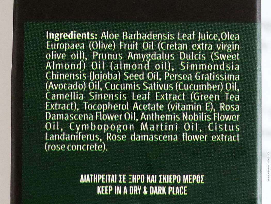 Evergetikon - Oční krém proti vráskám s aloe a okurkou