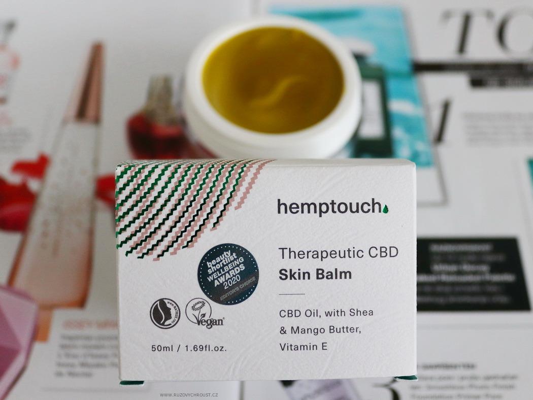 Hemptouch - terapeutický balzám CBD