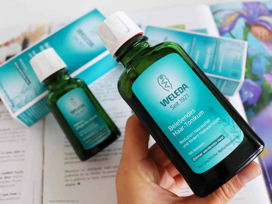 Weleda - Rozmarýnová vlasová péče - olej a tonikum