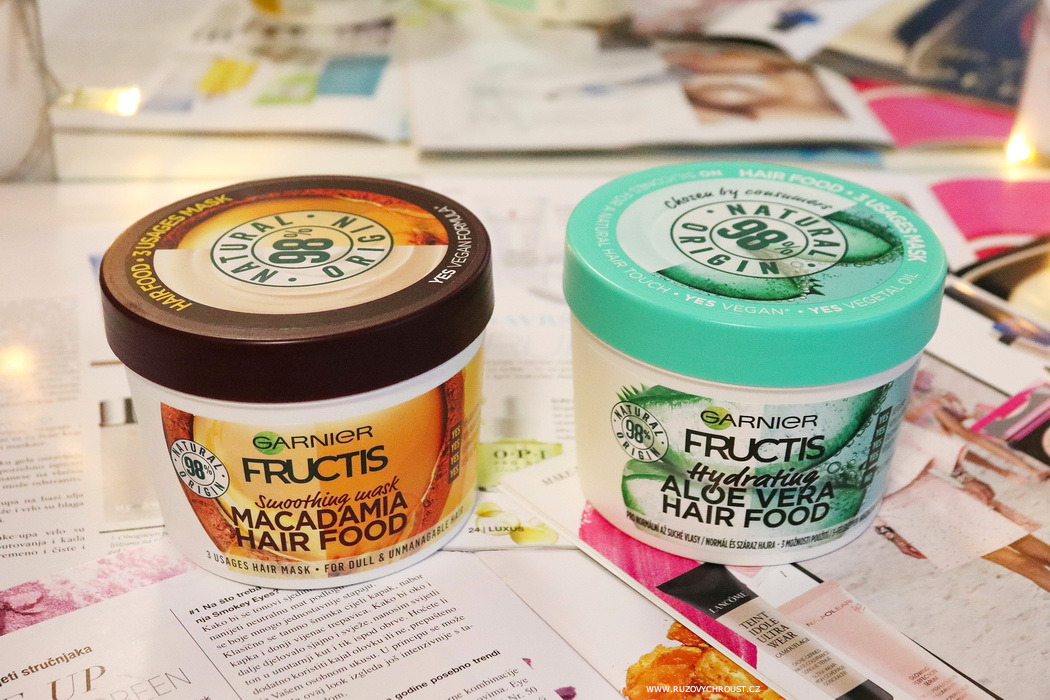 Garnier Fructis Hair Food masky