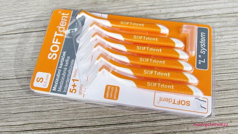 SOFTdent - mezizubní kartáčky 0,5 mm