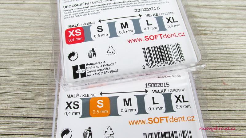 SOFTdent - mezizubní kartáčky