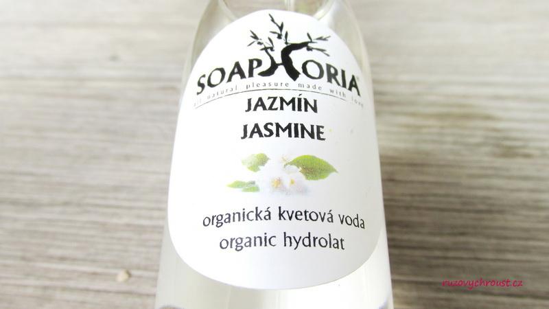 Soaphoria - Jasmínová květová voda