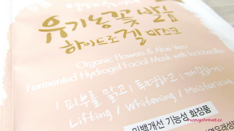 Whamisa – Organic Flower & Aloe Vera Fermented Hydrogel Mask