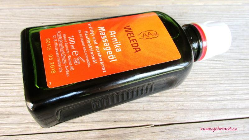 Weleda – masážní olej s arnikou