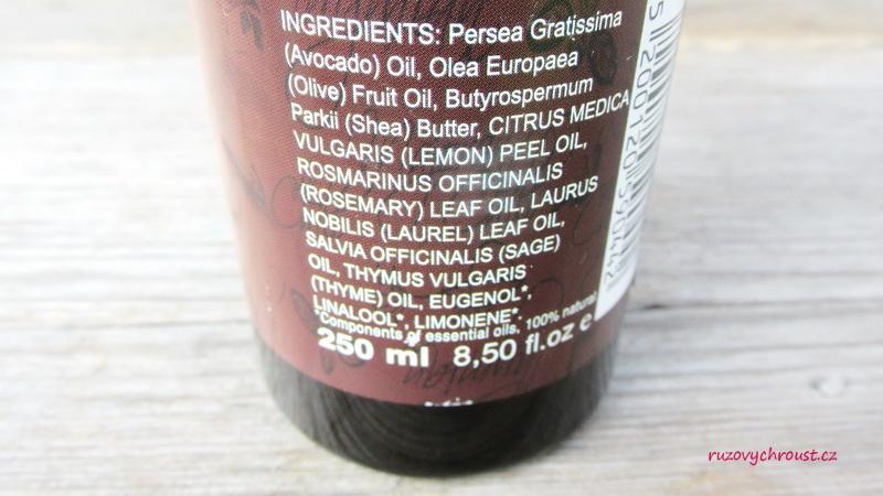BioAroma – maska na poškozené vlasy s avokádovým olejem
