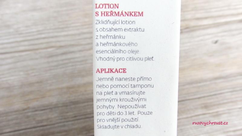 Botanicus – Lotion s heřmánkem