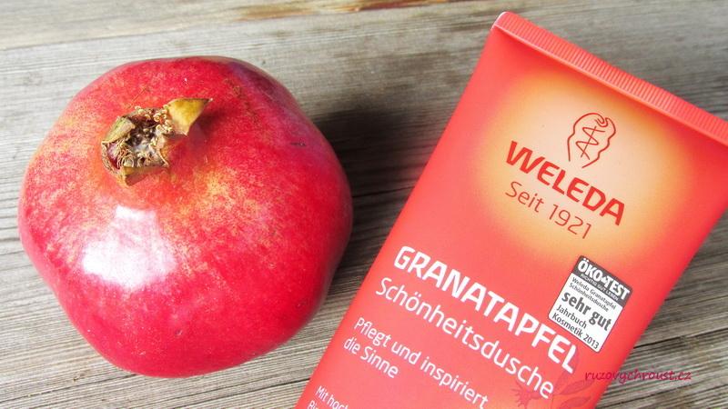 Weleda - regenerační sada Granátové jablko