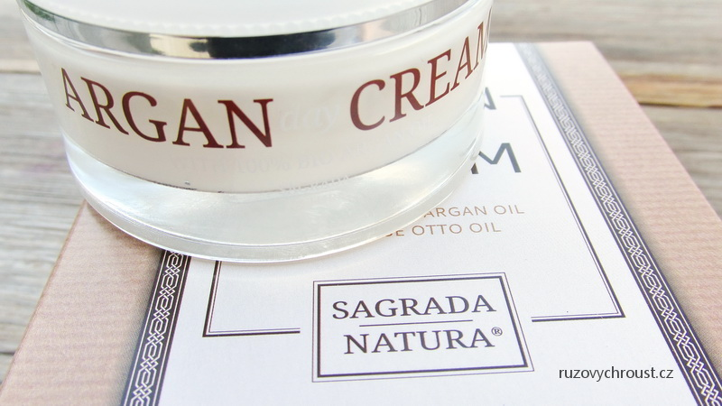 Sagrada Natura - Arganový denní krém