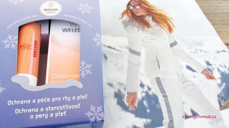 Weleda – zimní set (Coldcream + tyčinka na rty Everon)
