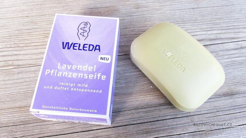 Weleda - levandulové rostlinné mýdlo