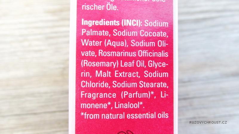 Weleda - rozmarýnové rostlinné mýdlo