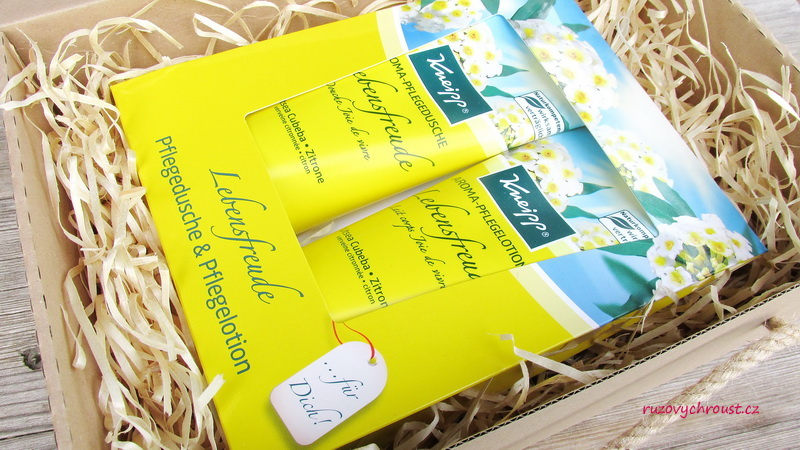 Kneipp – Radost ze života (sprchový krém a tělové mléko)