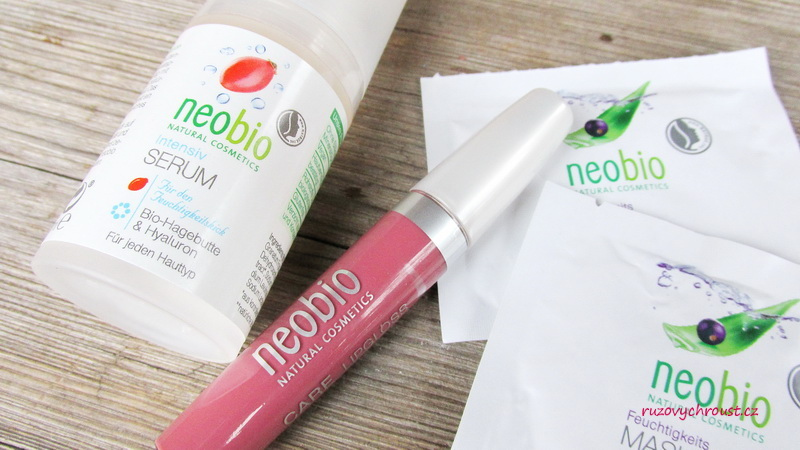 Neobio - intenzivní sérum, hydratační maska a lesk na rty