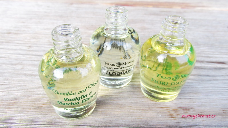 Frais Monde - parfémované oleje