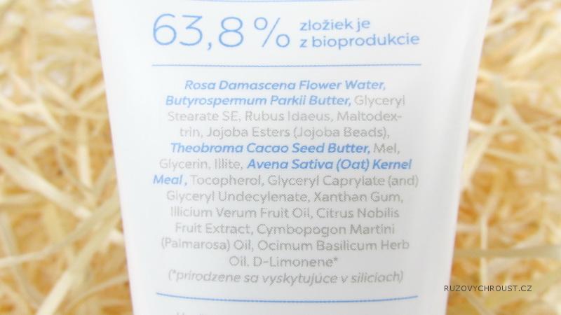 Dulcia – hydratační maska a peeling 2v1