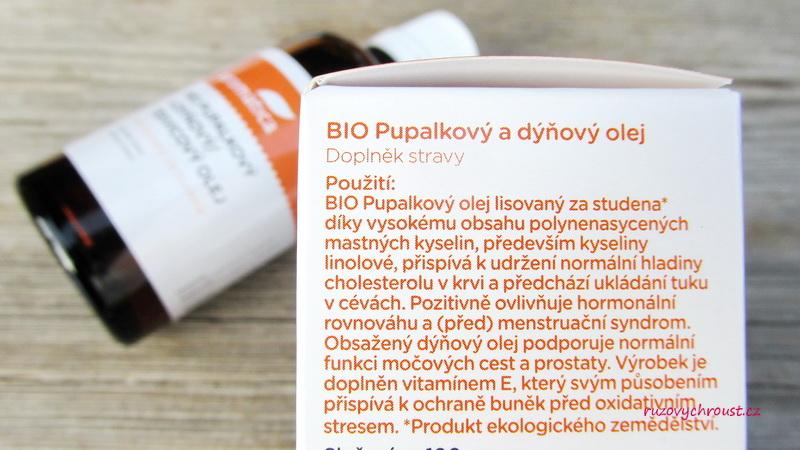Aromatica - BIO pupalkový a dýňový olej