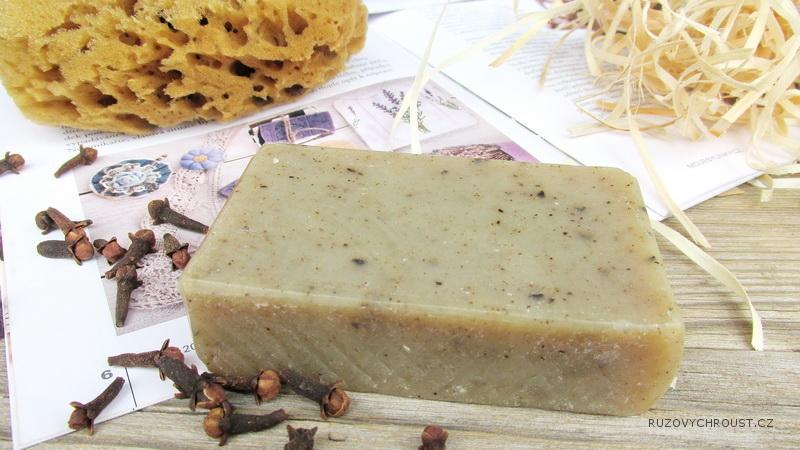 Naturinka – hřebíčkové anti-mykotické mýdlo