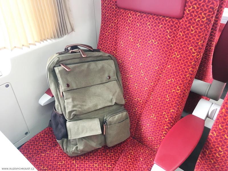 Trendhim - Kompaktní khaki batoh (Delton bags)